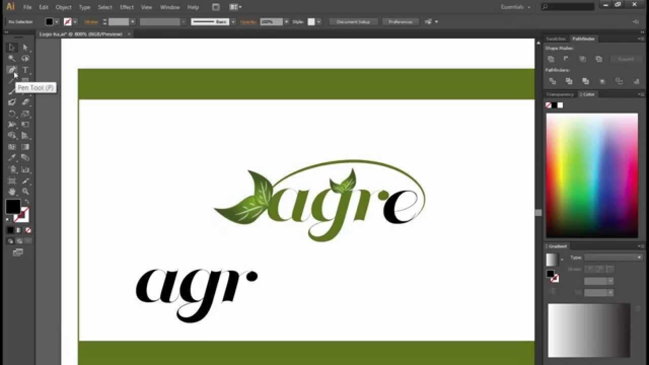 Hướng dẫn cách đồ lại Logo bằng AI