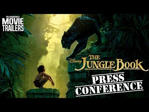 The cast of THE JUNGLE BOOK discuss the movie   Global Press Conference [HD]