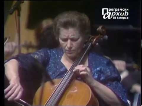 P.I.Tchaikovsky - Variations on a Rococo Theme, Op.33 Natalia Sahovskaja/Anatoly Novicky