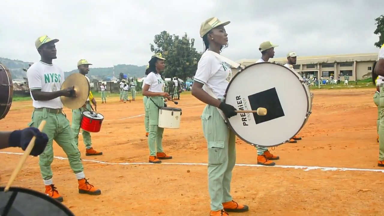 NYSC-FCT ABUJA MARSHAL BAND PERFORMING GAME OF THRONES THEME SONG ...