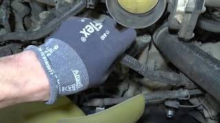 Ford Explorer 4  V8 4.6- Замена генератора. Ford Explorer 4  V8 4.6 - Generator replacement