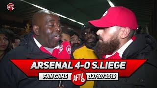 Arsenal 4-0 Standard Liege | Martinelli Reminds Me Of Luis Suarez! (Turkish)