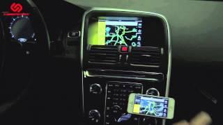 Volvo: установка системы i-Connect (зеркало iPhone на штатный монитор, MirrorLink)
