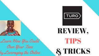 Turo Car Rentals Review, Tips & Tricks  How to make money with your car   The airbnb of cars