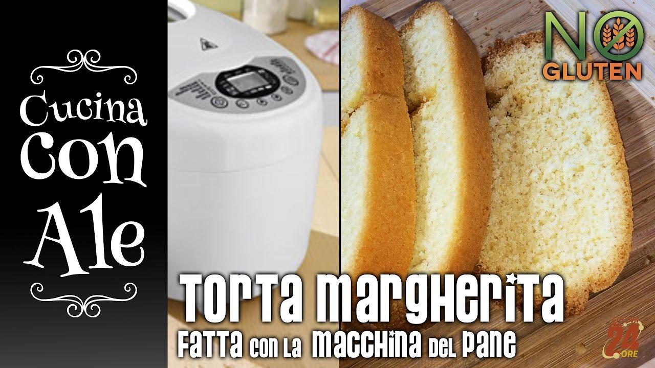 Torta Margherita   SPECIALE COTTURA MACCHINA DEL PANE | Cucina Con Ale