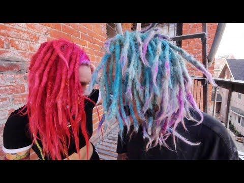 CULTURAL APPROPRIATION.....  (white people with dreadlocks)