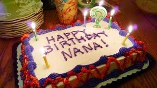 День Рождения свекрови, подарки, семья. Valentina Ok. LifeinUSA. жизнь в США.