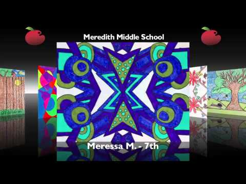 Meredith Middle School - Red Apple Gallery