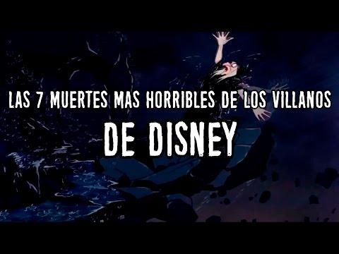 Las 7 muertes más horribles de villanos de Disney