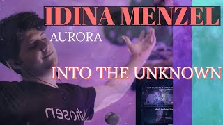 Idina Menzel, AURORA - Into the Unknown [FIRST REACTION]