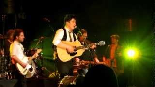 Mumford & Sons ft. Dawes and Jerry Douglas - Awake My Soul [HD] 3/8/12