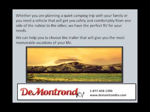 DeMontrond® RV has the Motorhomes Houston Trusts for Quality Travel