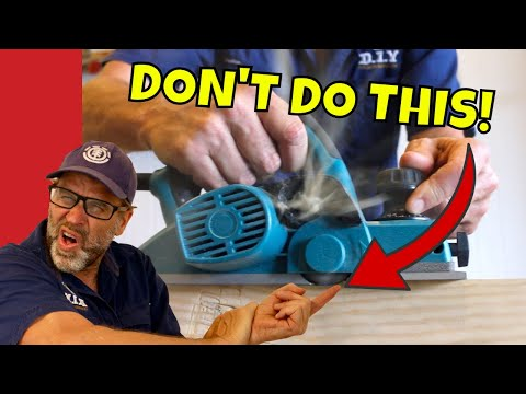 BEGINNERS Guide to Using an Electric Planer.