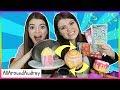 Squishies vs Scratch N Sniff Stickers Challenge / AllAroundAudrey