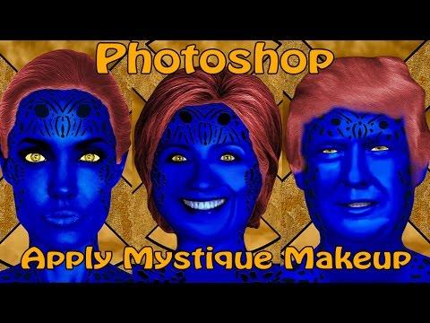 Photoshop: X-Men Mystique - Transform Someone into a Shapeshifter