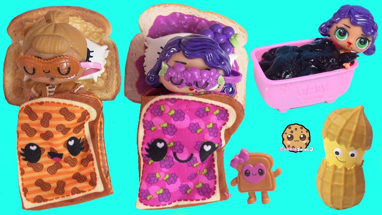 Download LOL Surprise Morning Routine with Custom DIY Peanut Butter & Jelly Dolls