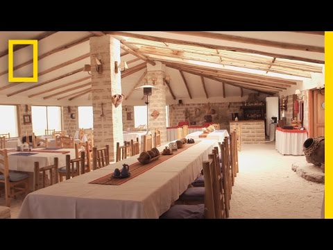 This Hotel Is Made Entirely of Salt | National Geographic