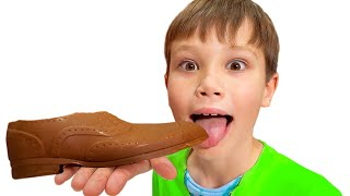Шоколадный Челлендж Макс и Катя