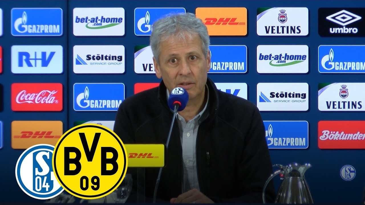 """Jeder Zweikampf war schwer"" | PK mit Favre | Schalke 04 - BVB"