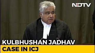 Kulbhushan Jadhav case in ICJ