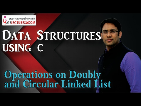 Data Structures using C 75 Operations on Doubly and Circular Linked List