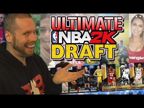 The Ultimate NBA 2K19 Draft