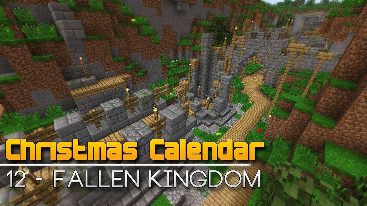 Christmas Calendar Minecraft Download : Christmas calendar fallen kingdom minecraft parkour