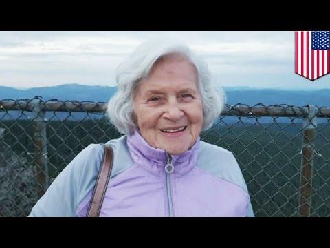 TSA patdown: Granny strip searched by TSA at Portland International Airport - TomoNews