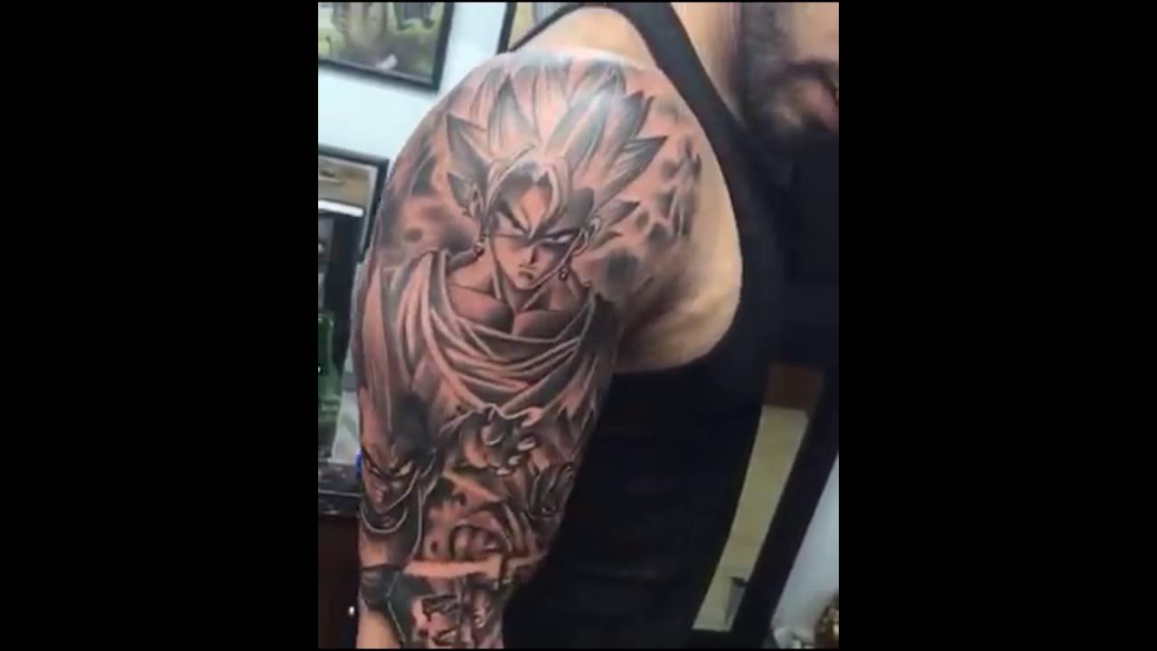 20 Shoulder Tattoos For Men Dbz Ideas And Designs