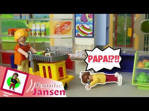 Playmobil Film 'Papa, biiiiiiiiiiiitttttteeeeee!!!!!' Familie Jansen / Kinderfilm / Kinderserie