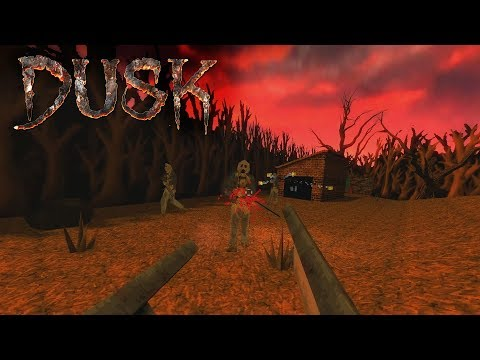 DUSK (PC) Gameplay (Oldschool Quake-like FPS!)