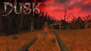 DUSK (PC) Gameplay (Oldschool Quake-like FPS!)