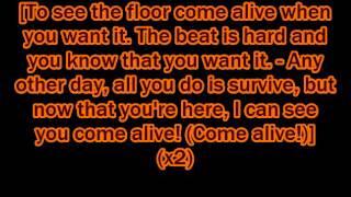 "Silva Hound ft. Odyssey Eurobeat (Eurobeat Brony) - ""Come Alive"" lyrics"