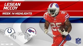 LeSean McCoy Dashes Through the Snow w/ 158 Yards & 1 TD | Colts vs. Bills | Wk 14 Player HLs