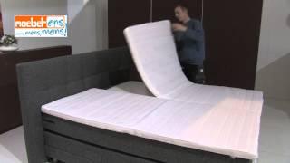 Montage / Aufbau eines Boxspringbettes von MÖBEL EINS
