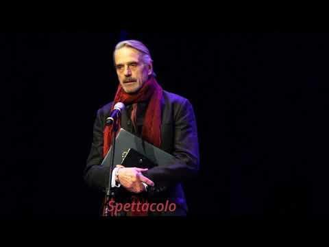 Jeremy Irons riceve il Premio Europa per il Teatro 2017
