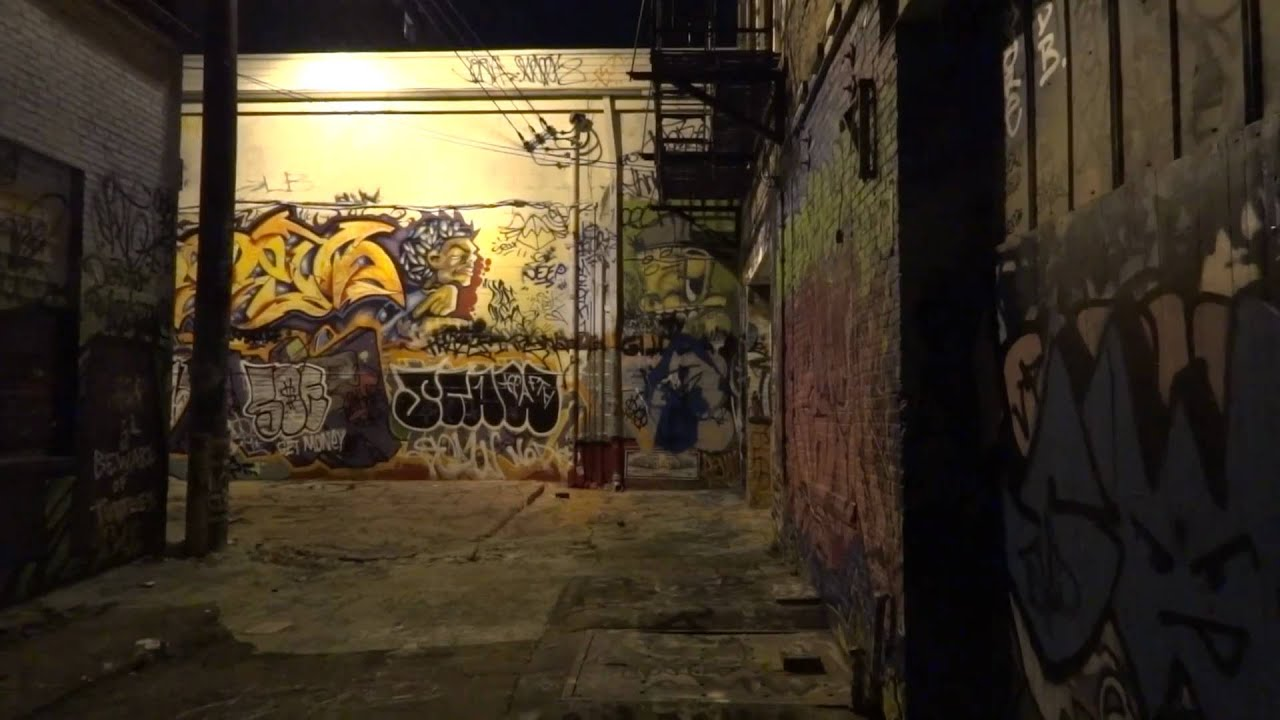 Graffiti wall baltimore - Unstabilized Graffiti Alley Baltimore Photography With Youtube Stabilizer Dc Photographer Test Youtube