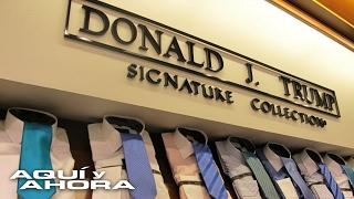 Éxitos y fracasos de las marcas de Donald Trump en México