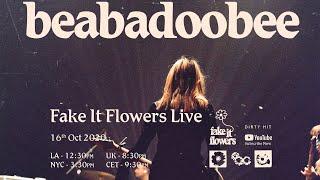 Download Lagu beabadobee - Fake It Flowers Live livestream MP3