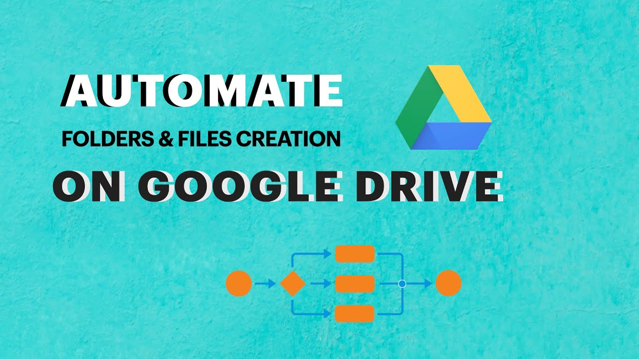 Automatically create folder and files on Google Drive