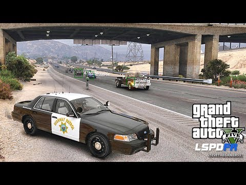 LSPDFR #498 CHP!! (GTA 5 REAL LIFE POLICE PC MOD) Memorial Day Weekend 2017