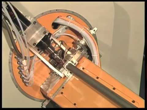 CNC Tube Bender with tube end-closing/forming & drilling - Mod. SILVER 3 + UFP38 + UDR22
