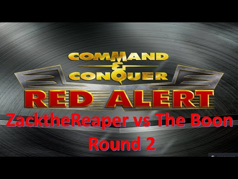 Command and Conquer Red Alert Remastered ZacktheReaper vs The Boon Round 2 |