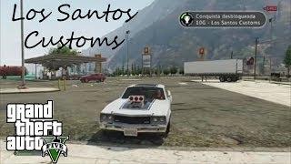 GTA V Conquista/Troféu - Los Santos Customs + Localização Do Sabre Turbo pt-br