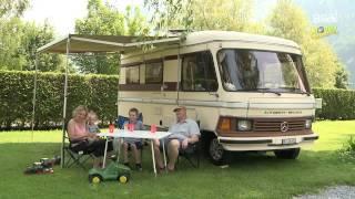 Camping Aaregg: Mit dem Oldtimer zum Campen