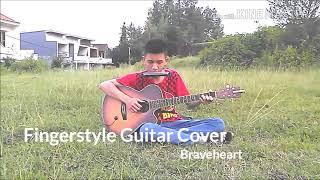 Braveheart Theme Guitar Flute Harmonica Cover Yusak Tan