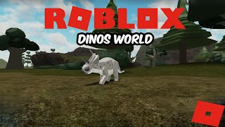 (Roblox Dinos World) First Time Playing Dinos World! (Fudge a Duck!)