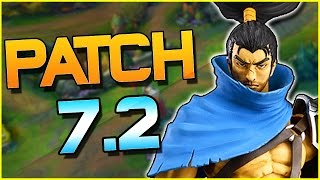 DARIUS GETTING NERFED...? YASUO CUCKED, REDEMPTION NERFED & MORE - Patch 7.2 | League of Legends