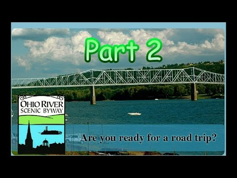 Ohio River Part 2 | Industrial plants | Cool bridge