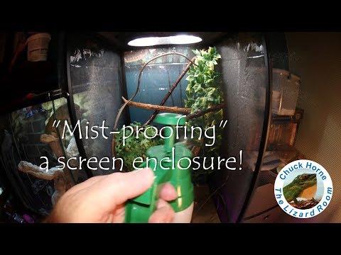 mist-proofing-a-reptibreeze-screen-enclosure!
